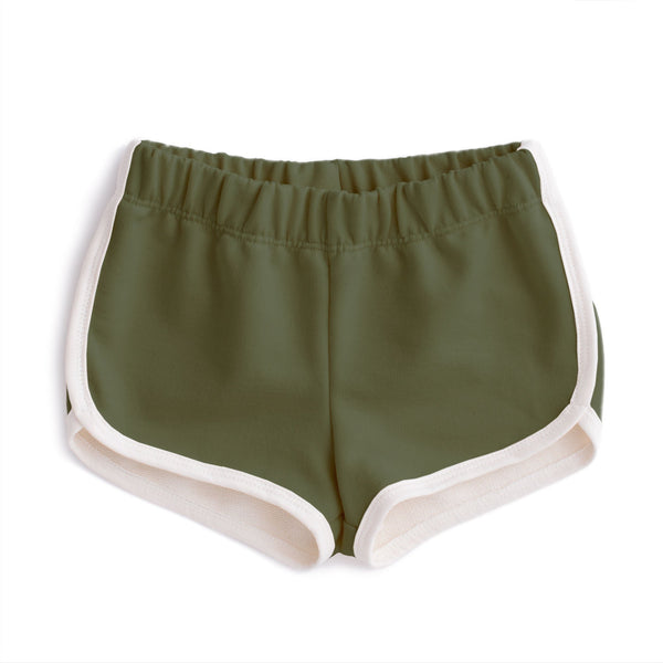 French Terry Shorts - Forest Green