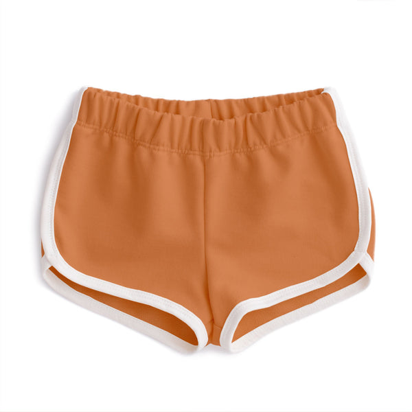 French Terry Shorts - Vintage Orange