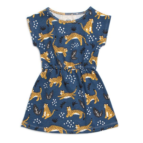 Sierra Dress - Wildcats Navy