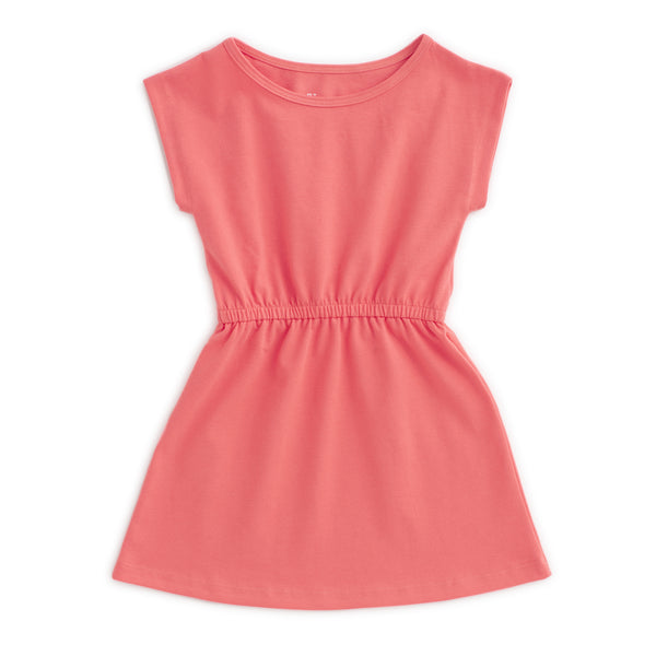Sierra Dress - Solid Coral