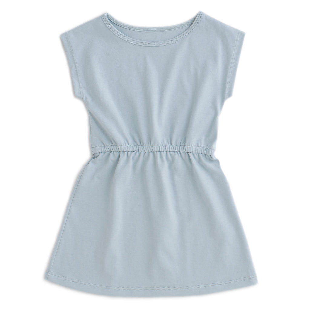 Sierra Dress - Solid Pale Blue