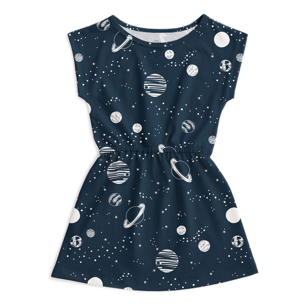 Sierra Dress - Planets Night Sky