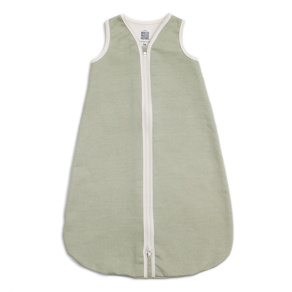 Organic Baby Sleep Bag - Solid Sage
