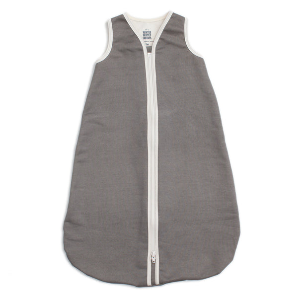 Organic Baby Sleep Bag - Solid Charcoal