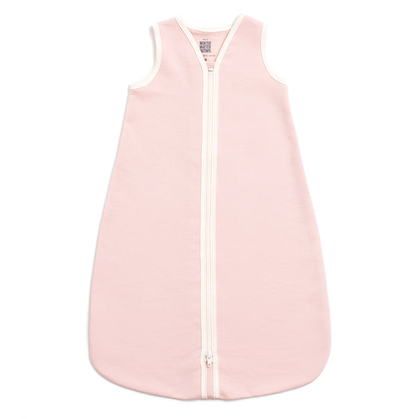 Organic Baby Sleep Bag - Solid Pink