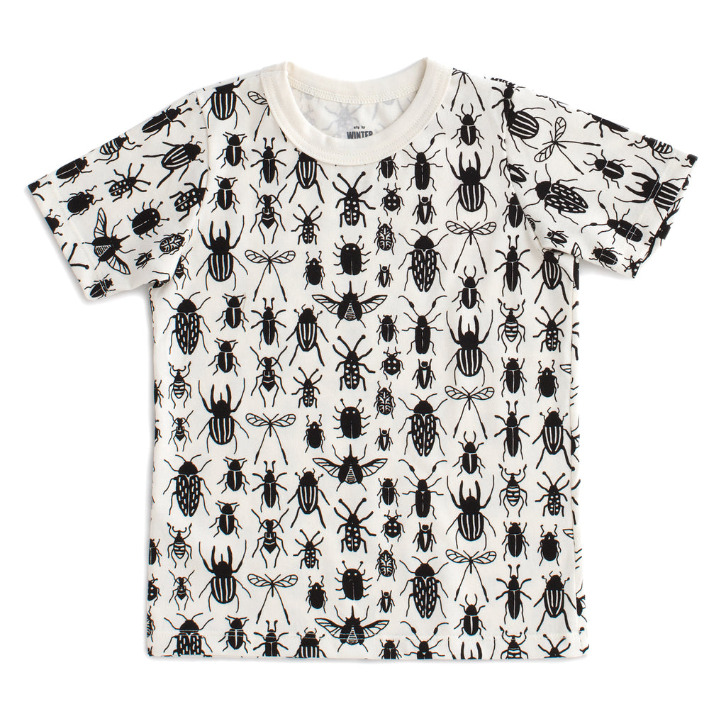 Short Sleeve Tee - Bug Collection Black