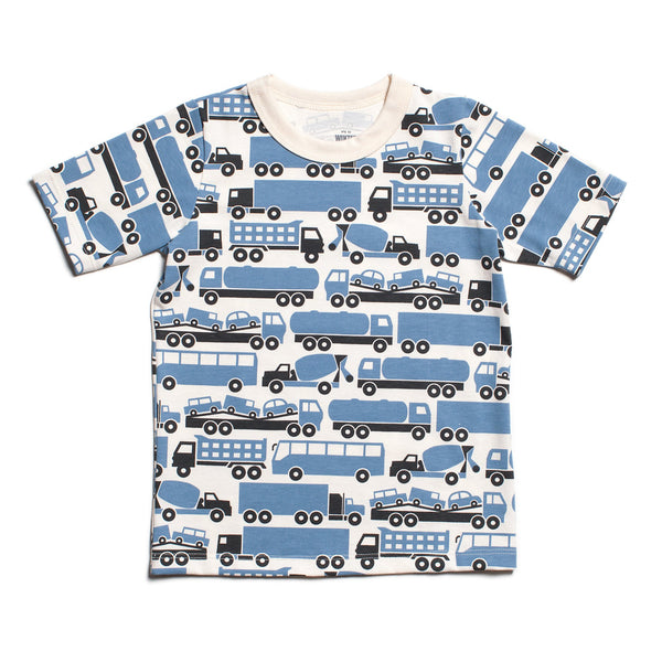 Short Sleeve Tee - Big Rigs Blue