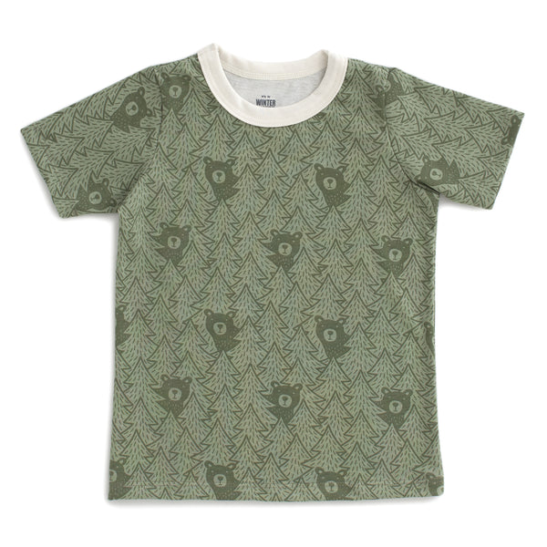 Short Sleeve Tee - Bears Sage