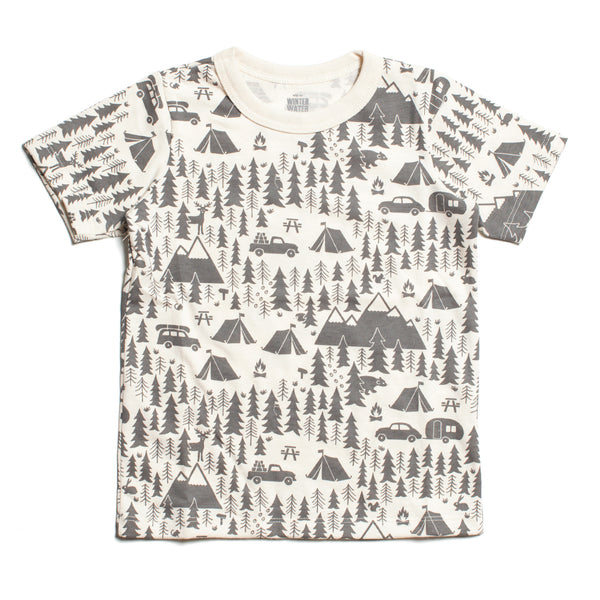 Short Sleeve Tee - Campground Grey