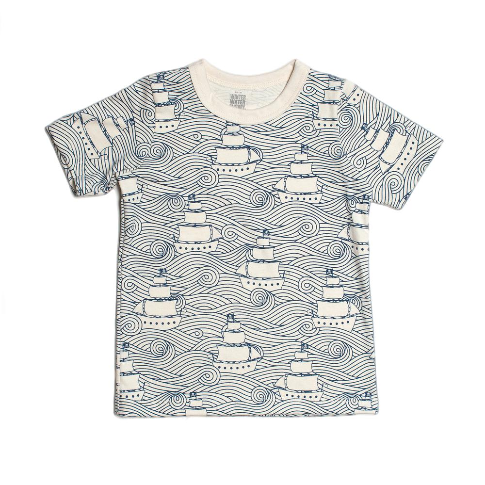 Short-Sleeve Tee - High Seas Navy