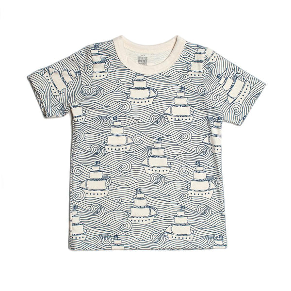 Short Sleeve Tee - High Seas Navy