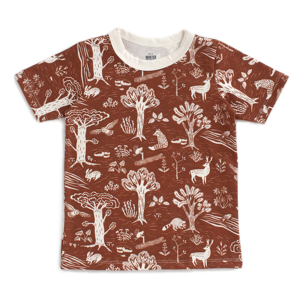Short Sleeve Tee - In the Forest Chestnut