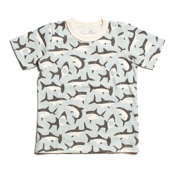 Short Sleeve Tee - Sharks Grey