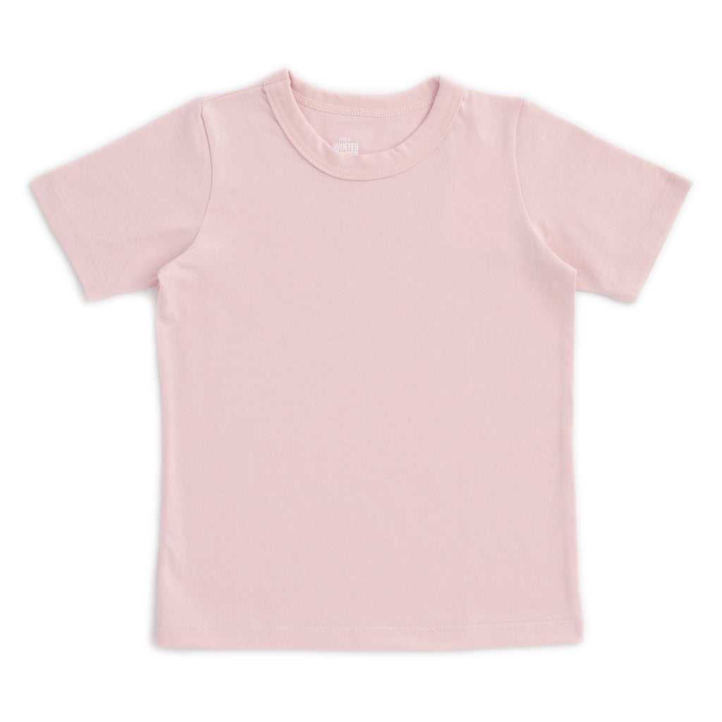 Short Sleeve Tee - Solid Pink
