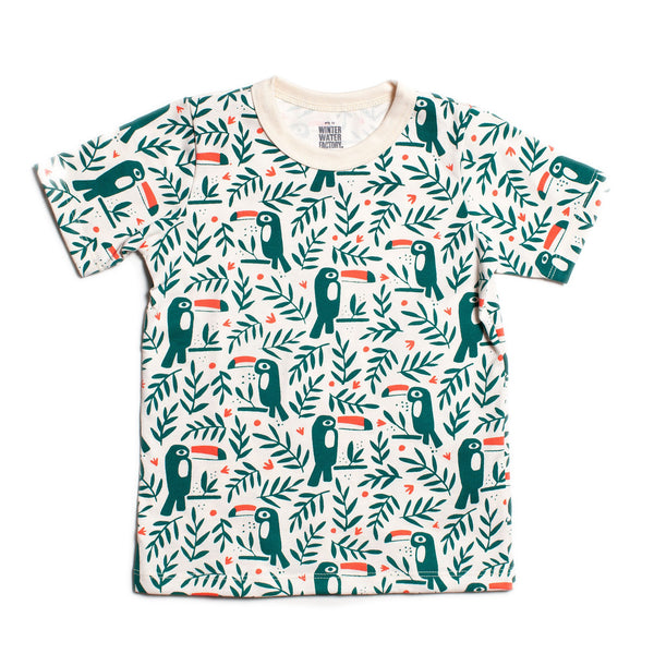 Short Sleeve Tee - Toucans Green