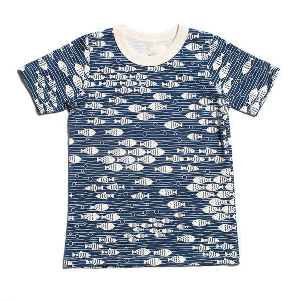 Short-Sleeve Tee - Under the Sea Navy