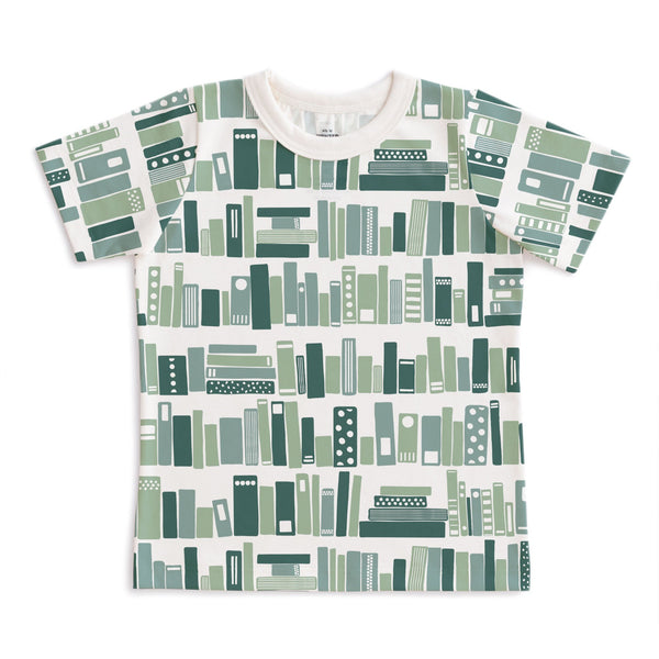 Short-Sleeve Tee - Bookshelf Teal