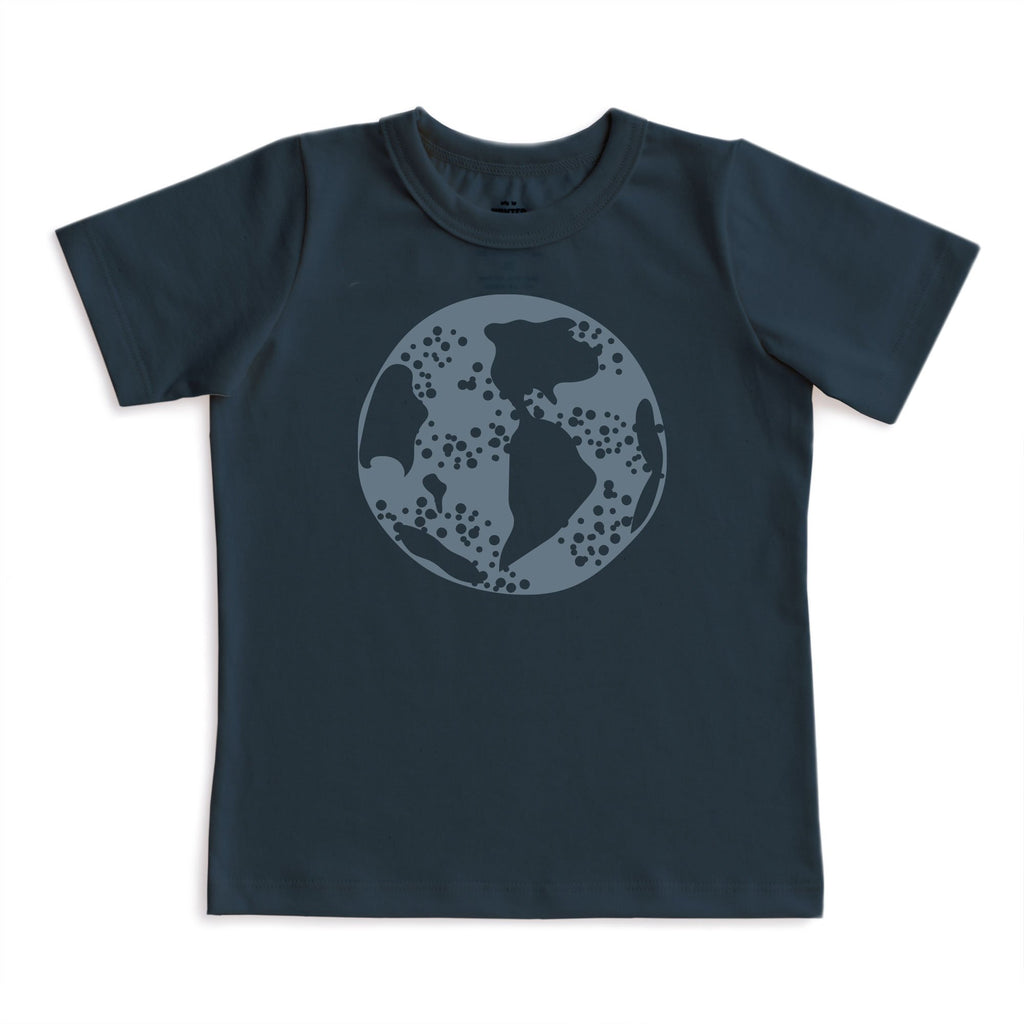 Short-Sleeve Tee - Earth Night Sky