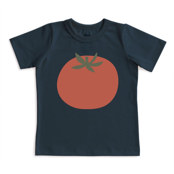 Short-Sleeve Tee - Tomato Night Sky