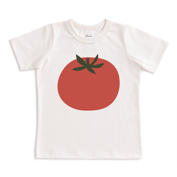 Short-Sleeve Tee - Tomato Natural