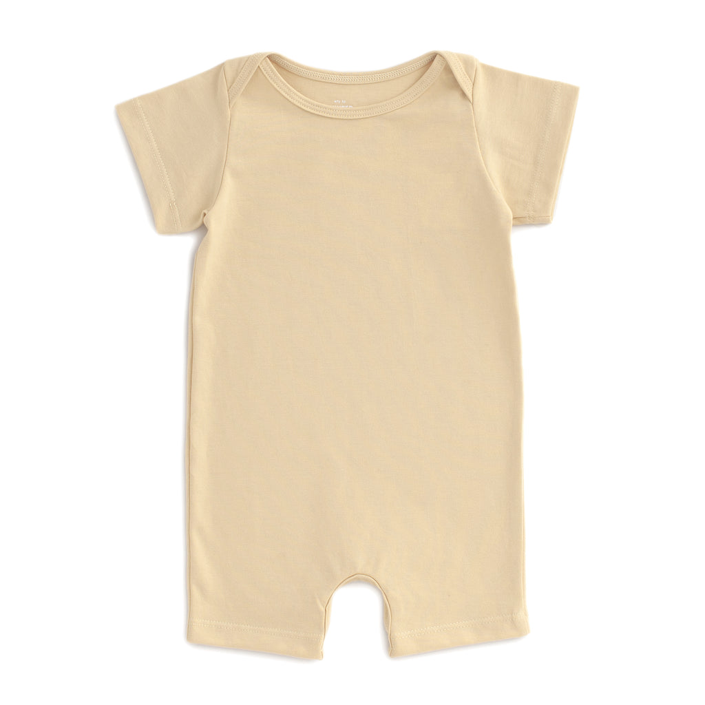 Summer Romper - Solid Yellow