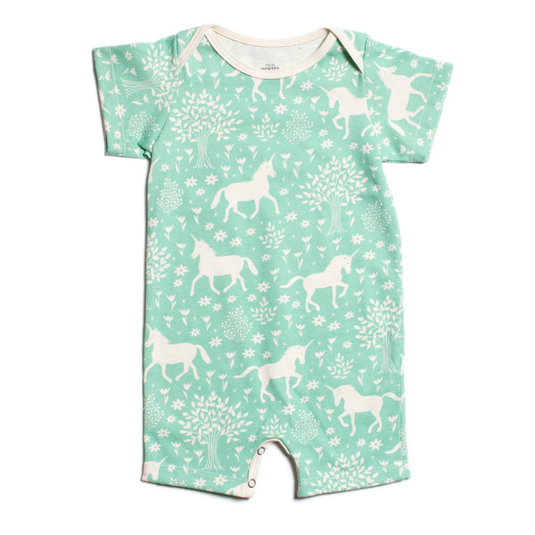 Summer Romper - Magical Forest Mint