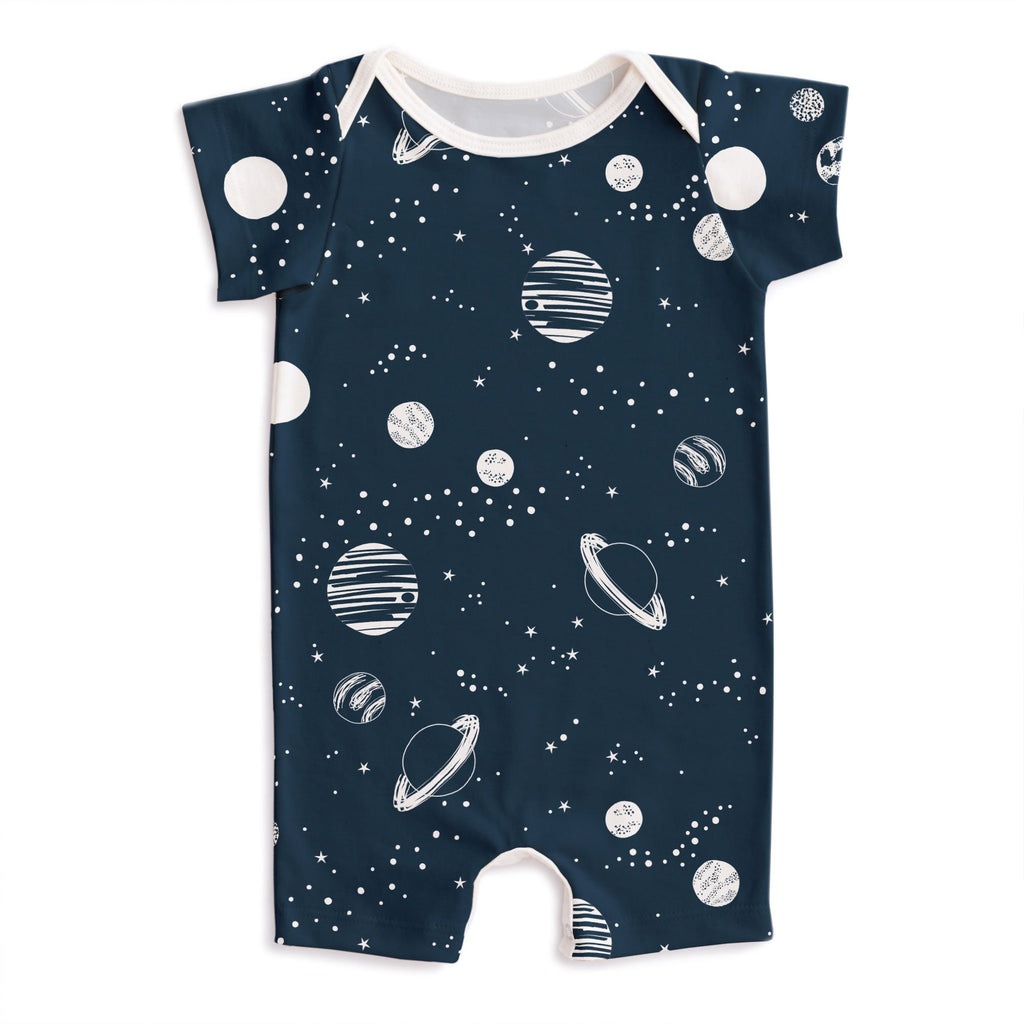 Summer Romper - Planets Night Sky