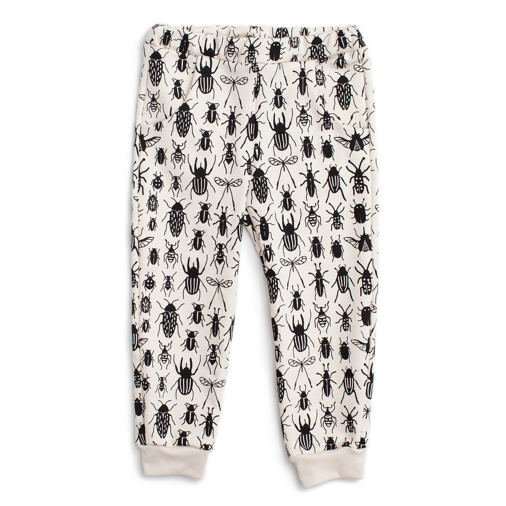 Sweatpants - Bug Collection Black