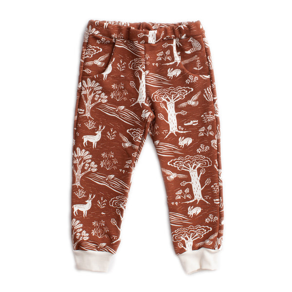Sweatpants - In The Forest Chestnut