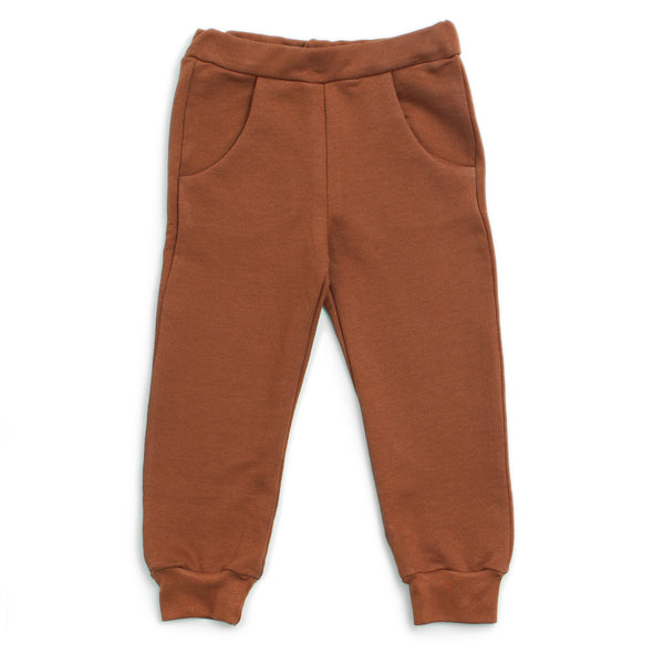 Sweatpants - Solid Chestnut