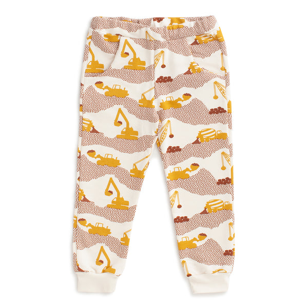 Sweatpants - Construction Yellow & Chestnut