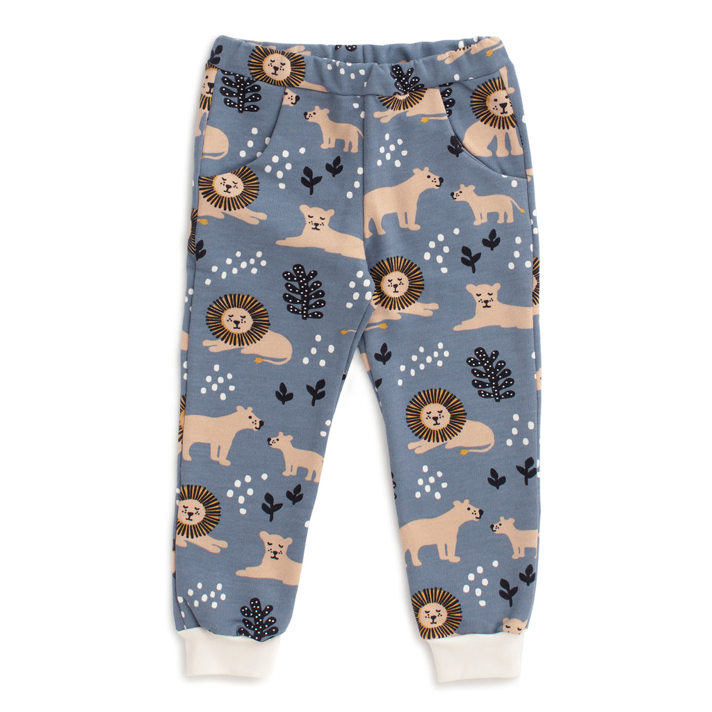 Sweatpants - Lions Slate Blue
