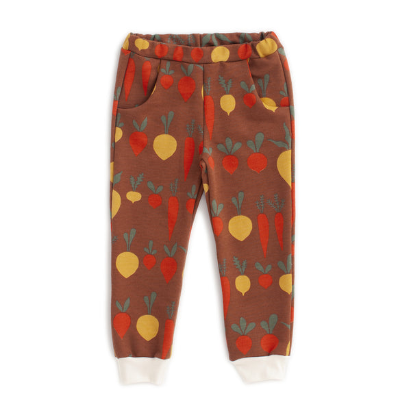 Sweatpants - Root Vegetables Chestnut