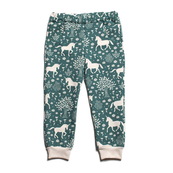 Sweatpants - Magical Forest Teal