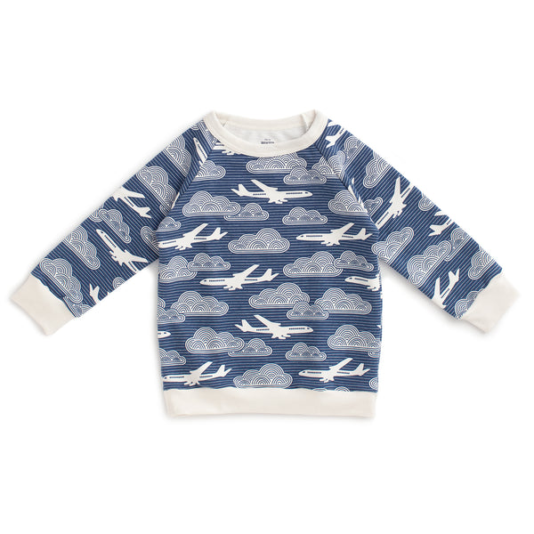 Sweatshirt - In the Clouds Navy