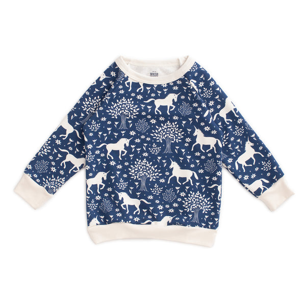 Sweatshirt - Magical Forest Navy