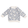 Sweatshirt - Race Cars Slate Blue