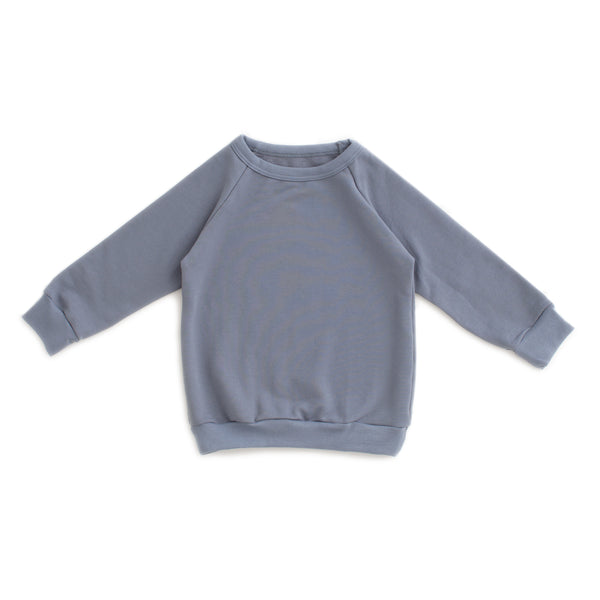 Sweatshirt - Solid Slate Blue