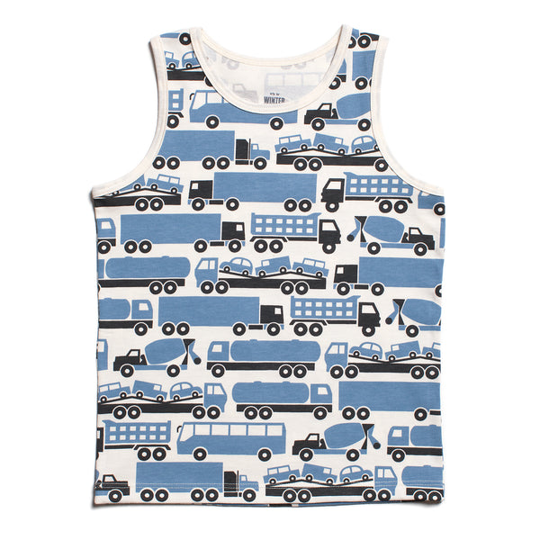 Tank Top - Big Rigs Blue
