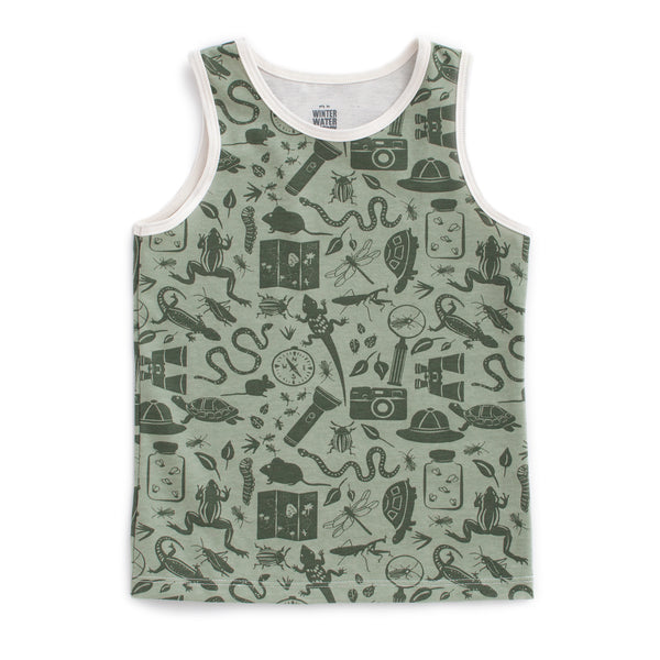 Tank Top - Nature Explorer Sage