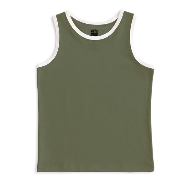 Tank Top - Forest Green