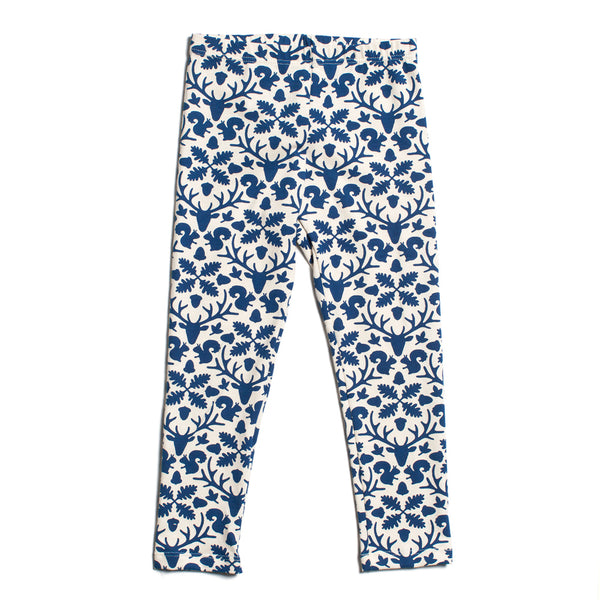 Baby Leggings - Animal Kingdom Navy