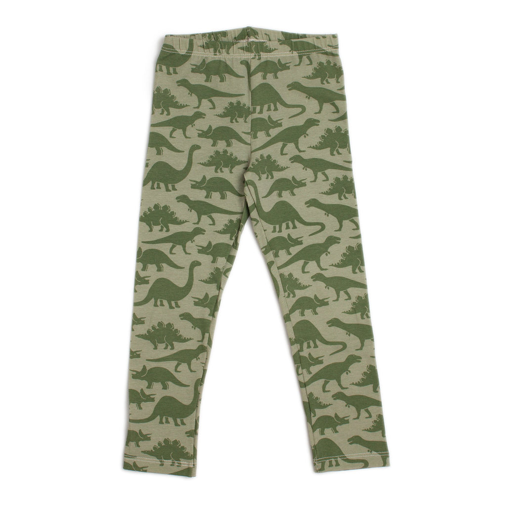 Leggings - Dinosaurs Sage