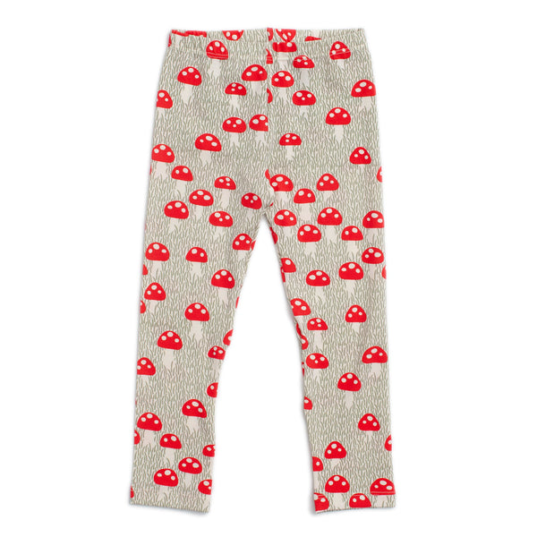 Baby Leggings - Mushrooms Sage