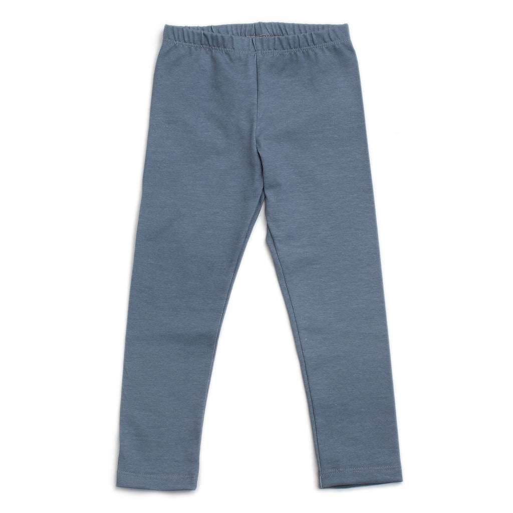 Leggings - Solid Slate Blue