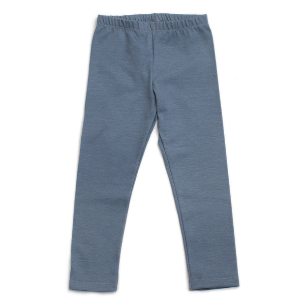Baby Leggings - Solid Slate Blue