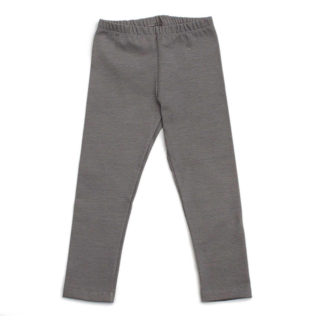 Baby Leggings - Solid Charcoal