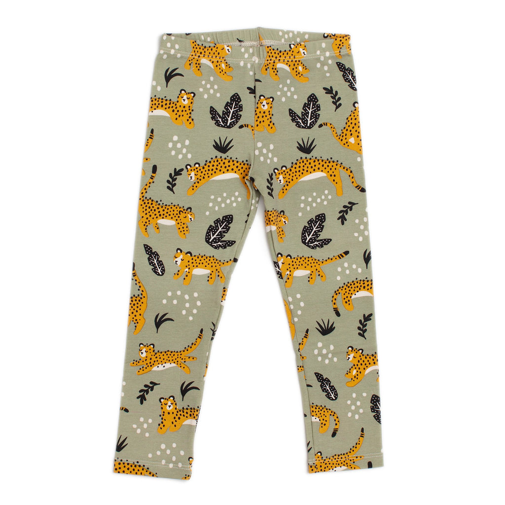 Baby Leggings - Wildcats Sage
