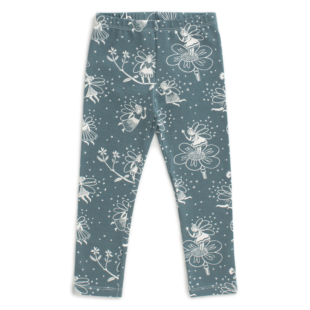 Baby Leggings - Fairies Teal