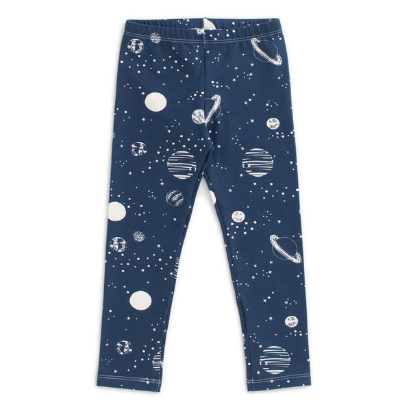 Baby Leggings - Planets Night Sky